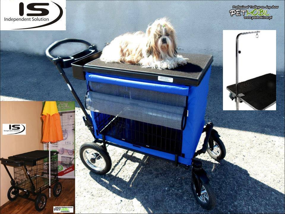 PetMobil Trolley on Dog Show