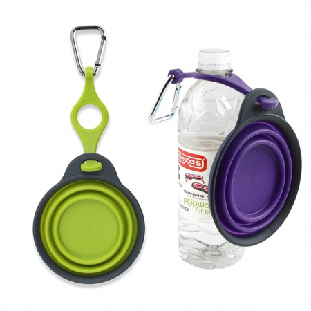 Travel Cup with Bottle Holder Carabiner